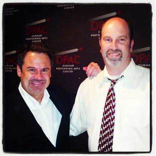 Marty Simpson with Dennis Miller
